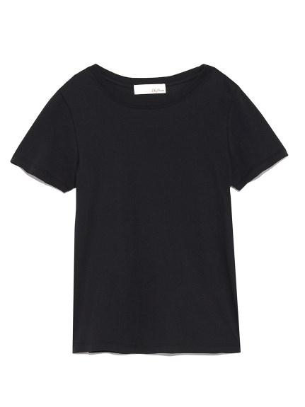 コンパクトロゴTシャツ(BLK-F)