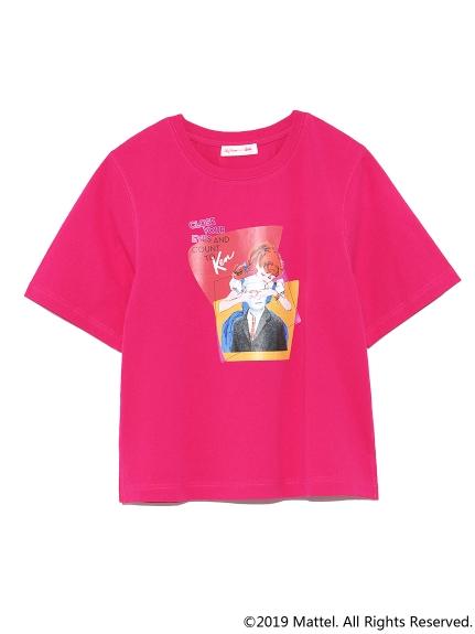 BarbieプリントTシャツ(PNK-F)