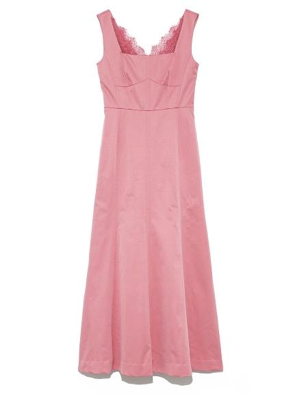 シンプル切り替えドレス