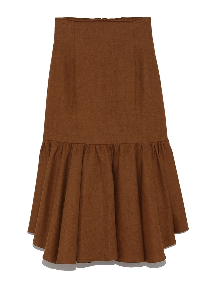 ランダム裾ハイウエストスカート(BRW-F)