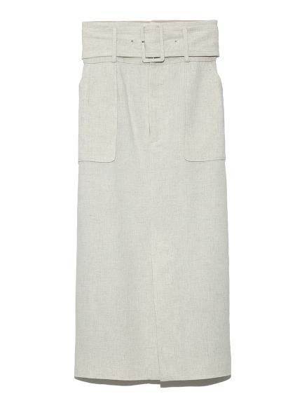 ミディタイトスカート(BEG-0)
