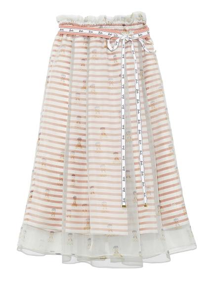 Barbieレイヤードスカート