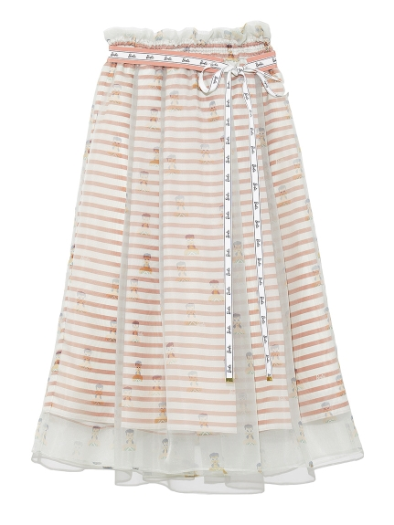 Barbieレイヤードスカート(PNK-F)