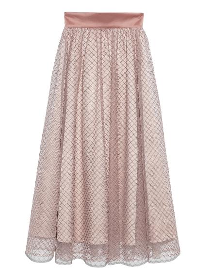 ビーズ刺繍ロングスカート(PBEG-F)