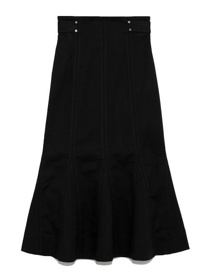 デザインステッチスカート(BLK-0)