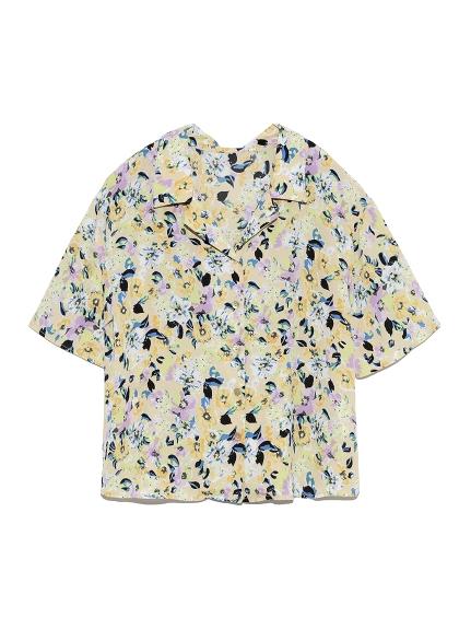 ヴィンテージフラワーシャツ