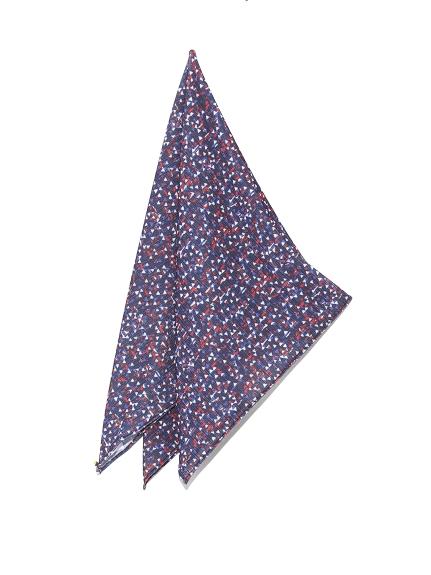 三角柄大判スカーフ(NVY-F)