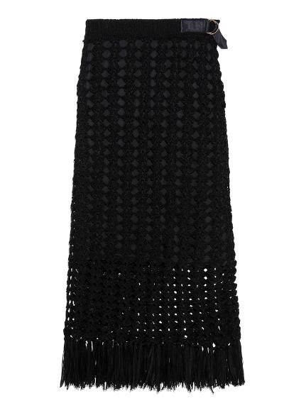 フィッシュネットタイトスカート